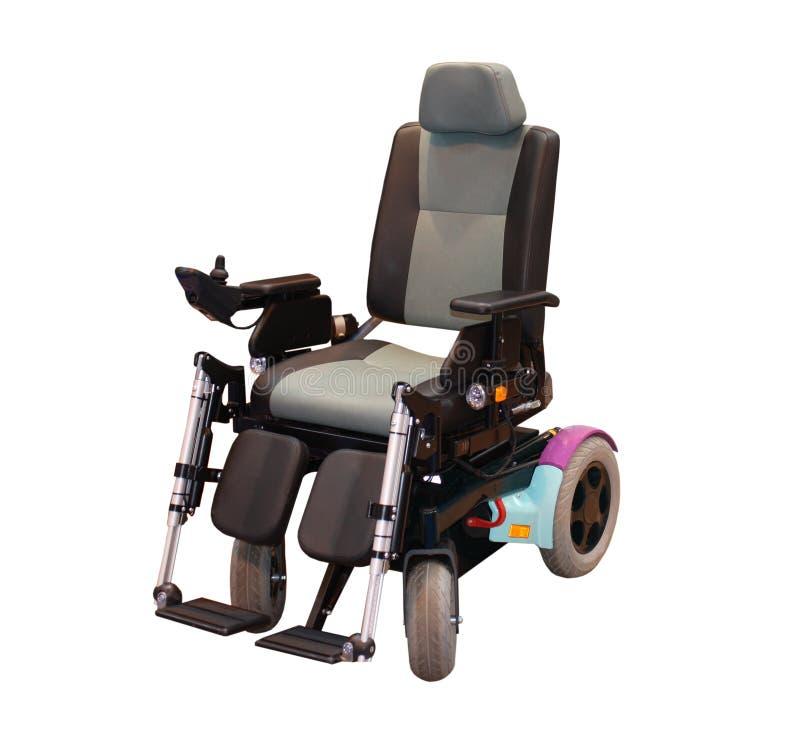 Cadeira de rodas elétrica. imagem de stock royalty free
