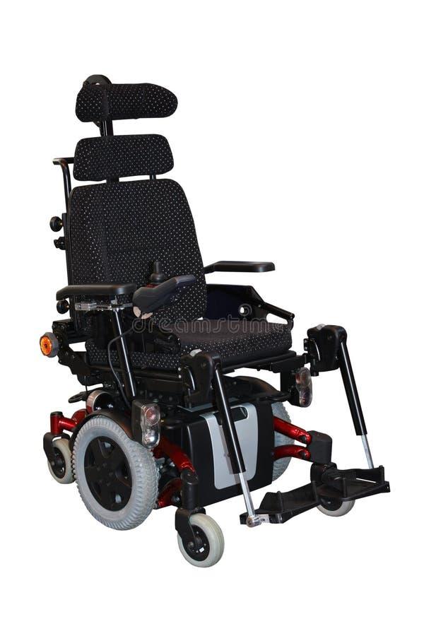 Cadeira de rodas elétrica foto de stock
