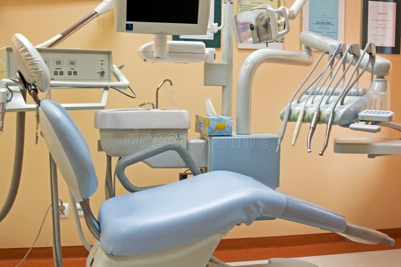 Cadeira de Stomatologic imagem de stock