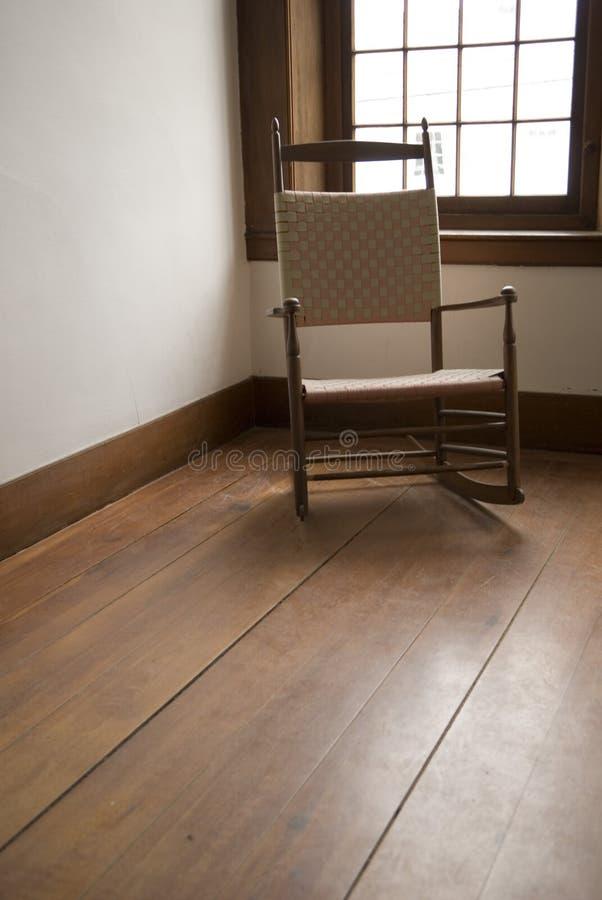 Cadeira do abanador foto de stock royalty free