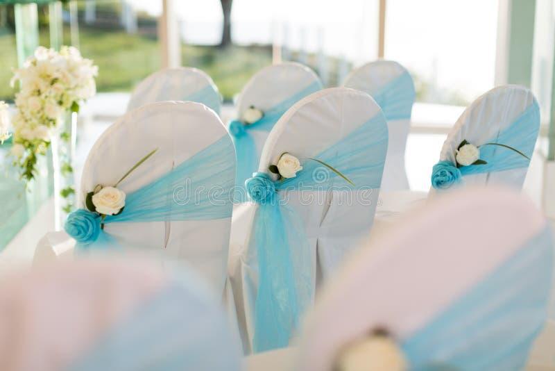 Cadeira do casamento fotos de stock royalty free