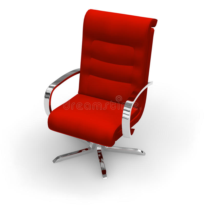 Download Cadeira do chefe ilustração stock. Ilustração de incorporado - 10063636