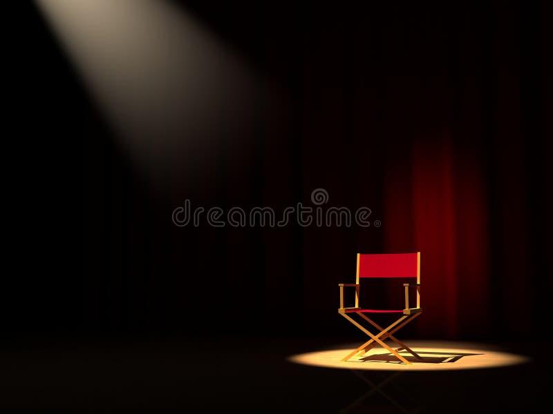 Cadeira do diretor fotos de stock royalty free