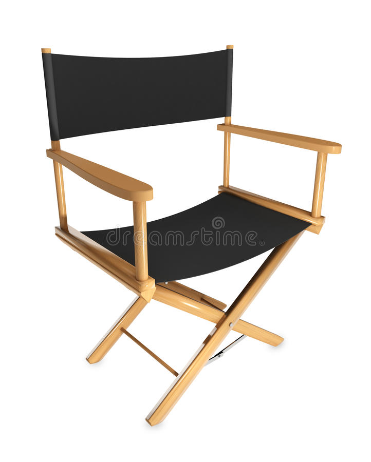 Cadeira do diretor foto de stock royalty free