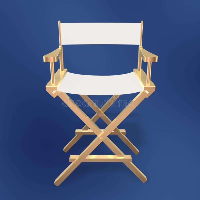 Cadeira do diretor ilustração royalty free