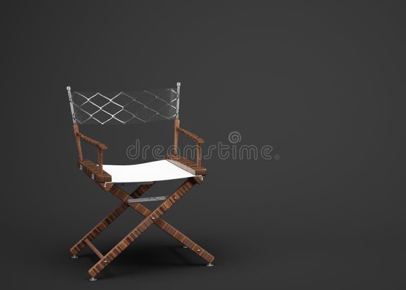 A cadeira do diretor fotografia de stock