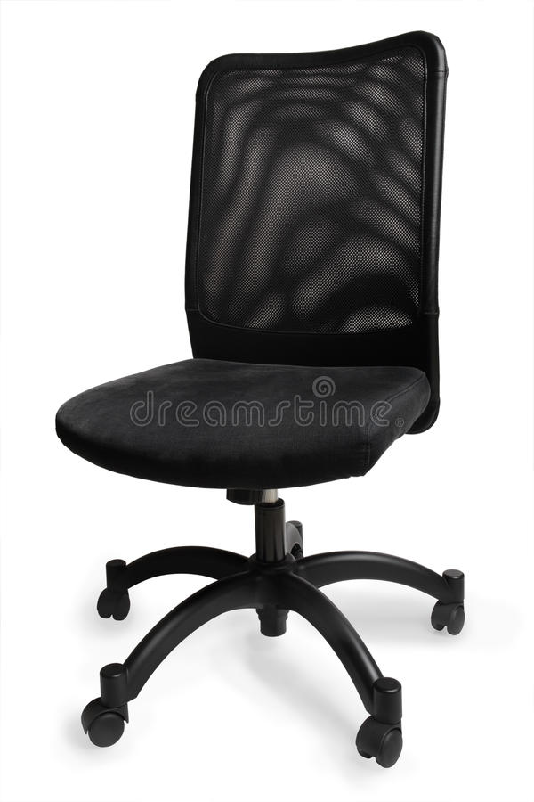 Cadeira do escritório isolada imagens de stock royalty free