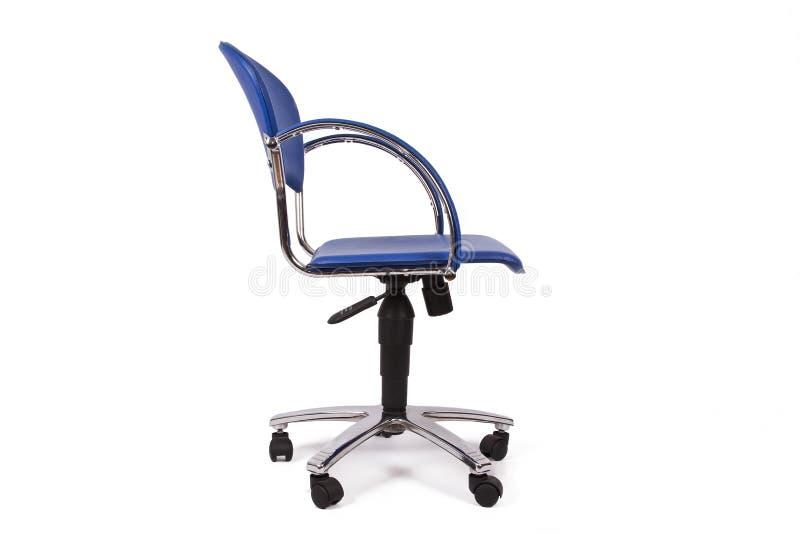 Cadeira do escritório isolada imagem de stock