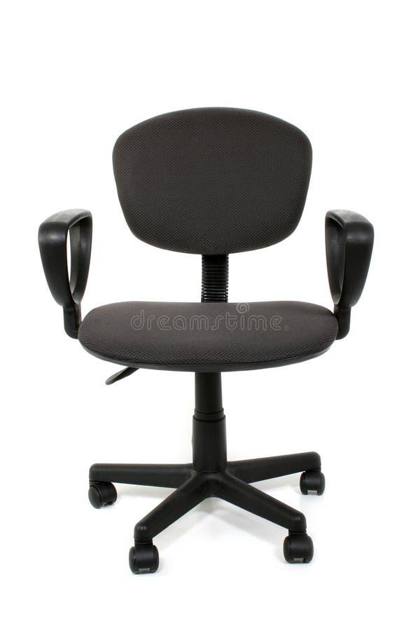 Cadeira do escritório sobre o branco imagem de stock royalty free