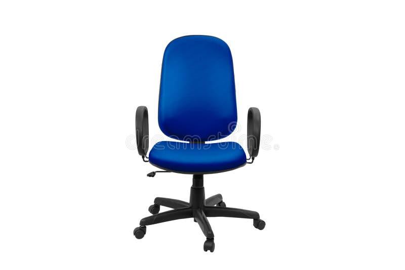 Cadeira do escrit?rio Objeto isolado do fundo imagem de stock
