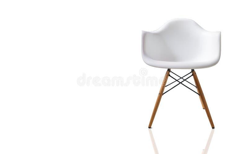 Cadeira do projeto moderno isolada fotografia de stock