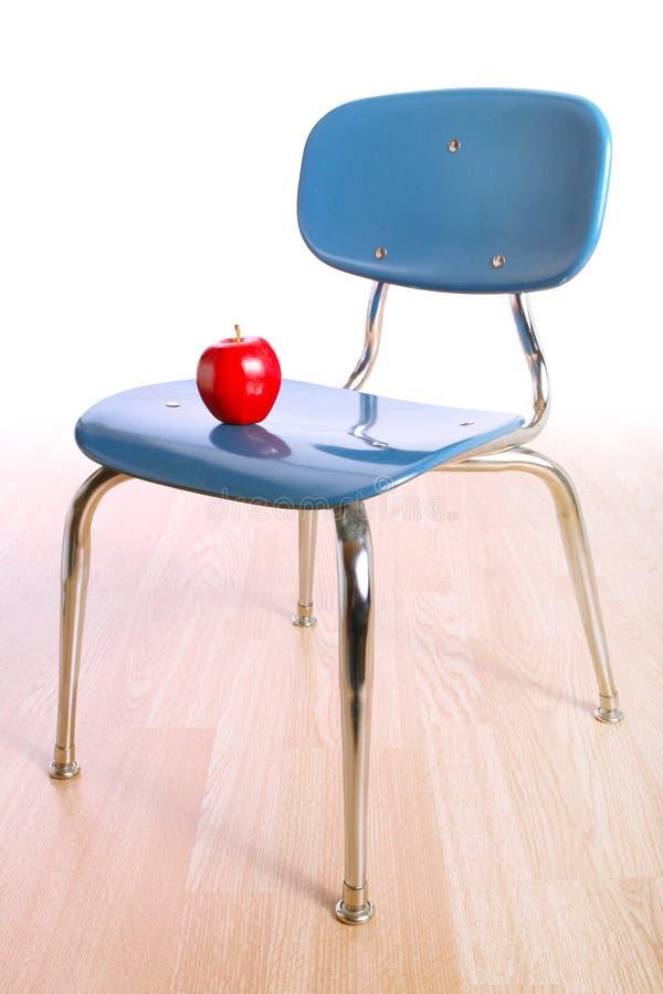 Cadeira do Schoolroom imagem de stock