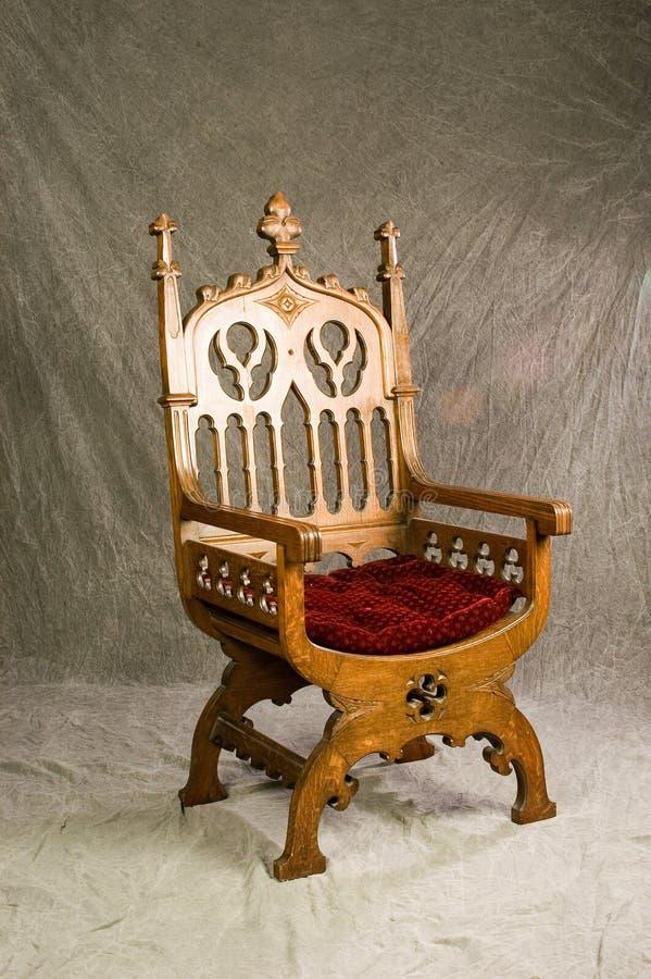 Cadeira dos Bishops imagens de stock royalty free