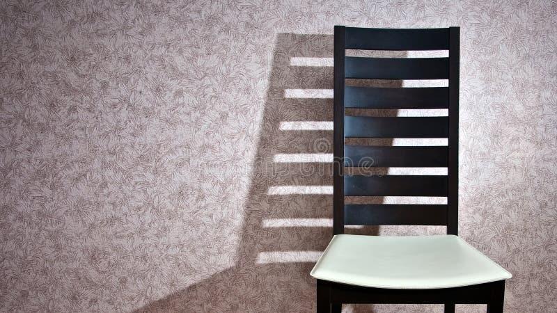 Cadeira e sombra foto de stock
