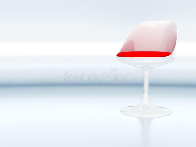 Cadeira elegante moderna imagens de stock