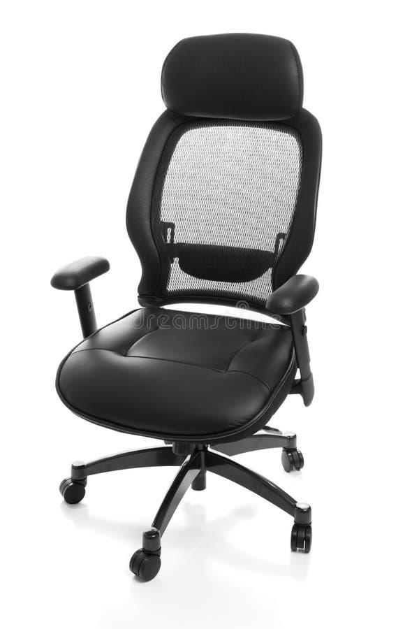 Cadeira ergonómica do escritório fotografia de stock royalty free