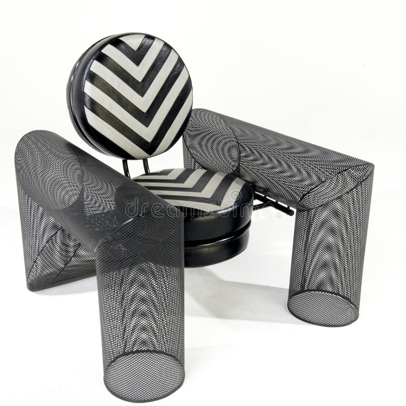 Cadeira incomun foto de stock