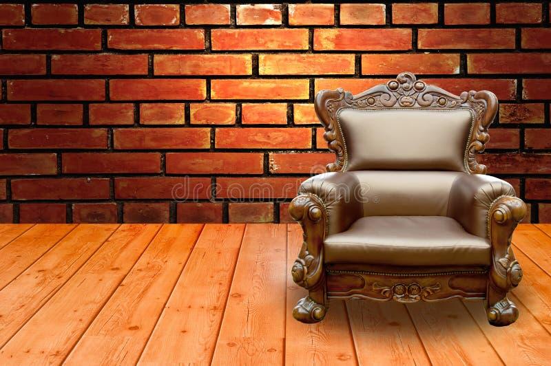 Cadeira luxuosa do braço imagens de stock