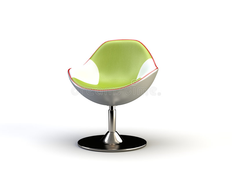 Cadeira moderna ilustração stock