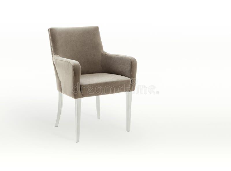 Cadeira no branco fotos de stock