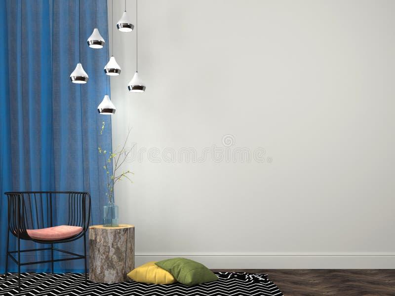 Cadeira preta e tabela do metal feitas do coto imagem de stock royalty free