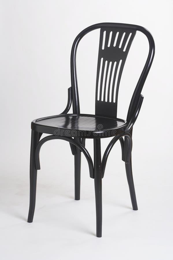 Cadeira preta II - schwarzer Stuhl II imagem de stock royalty free