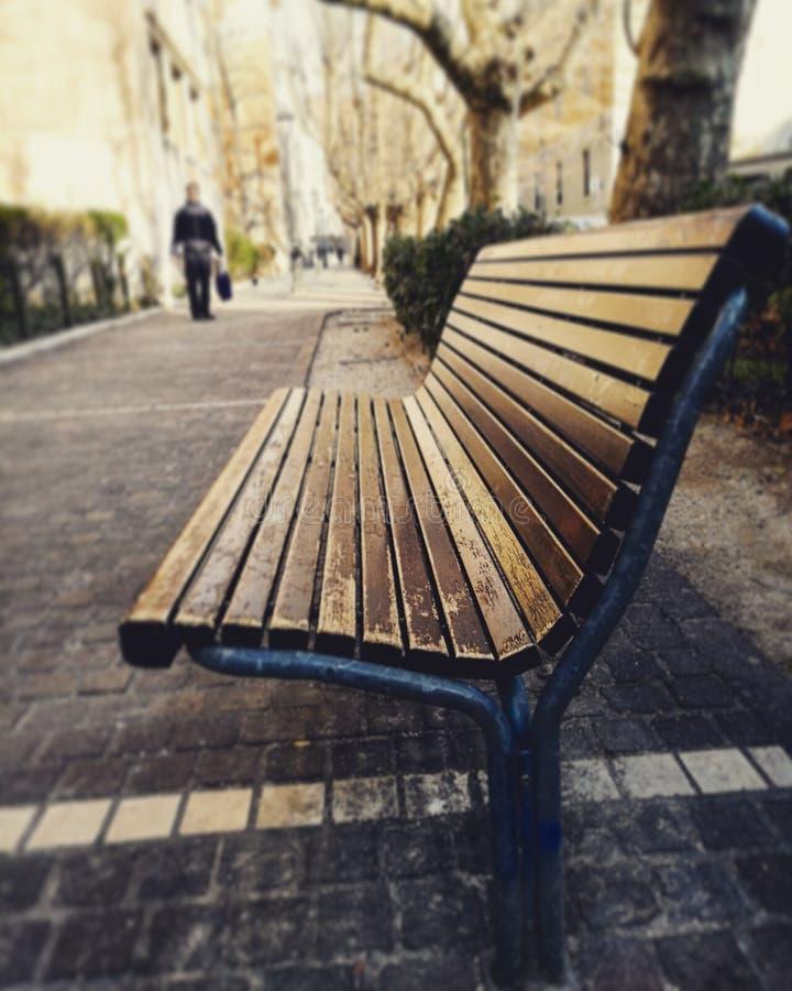 Cadeira vazia imagens de stock royalty free