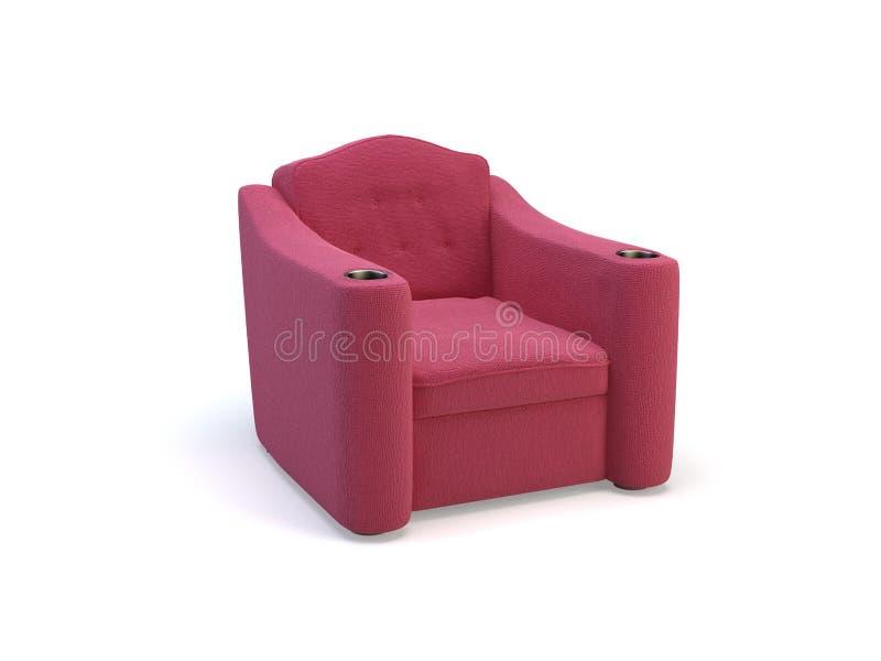 Cadeiras do cinema ilustração royalty free