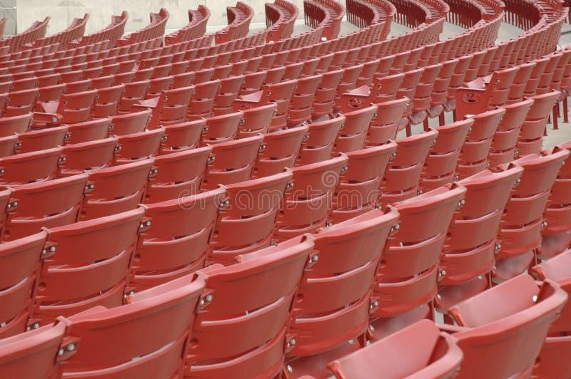 Cadeiras do concerto imagens de stock