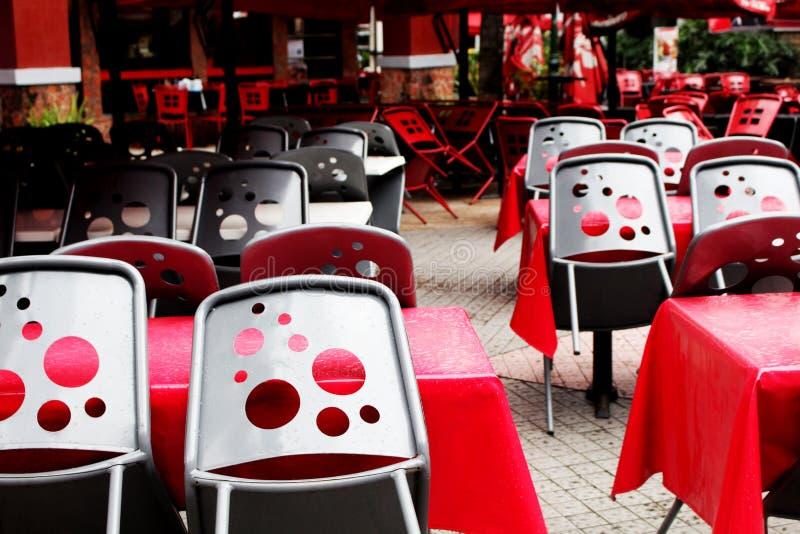 Cadeiras do dominó fotografia de stock royalty free