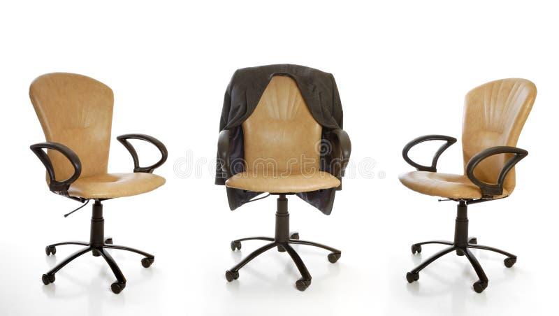 Cadeiras do escritório fotos de stock royalty free