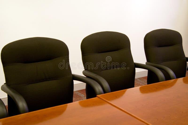Cadeiras do negócio fotos de stock royalty free