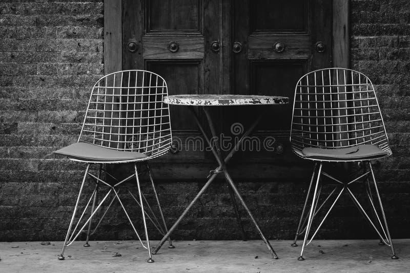 Cadeiras do vintage imagens de stock