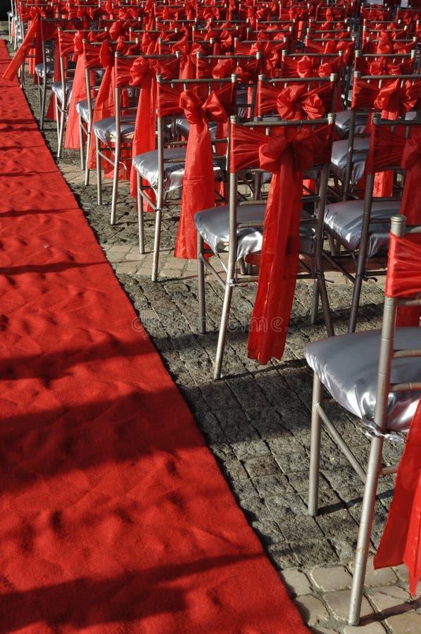 Cadeiras para um partido imagem de stock royalty free