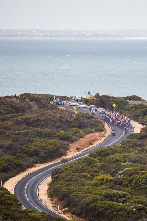 Cadel Evans Great Ocean Road Race arkivbild
