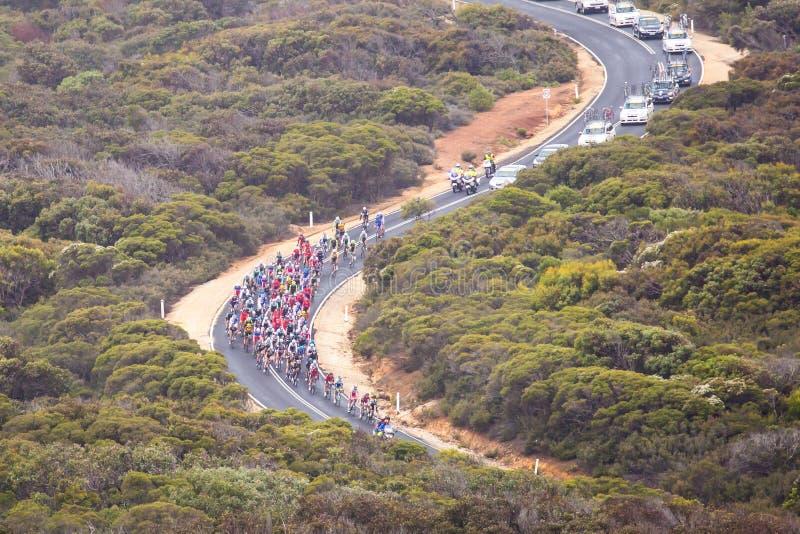 Cadel Evans Great Ocean Road Race arkivfoto