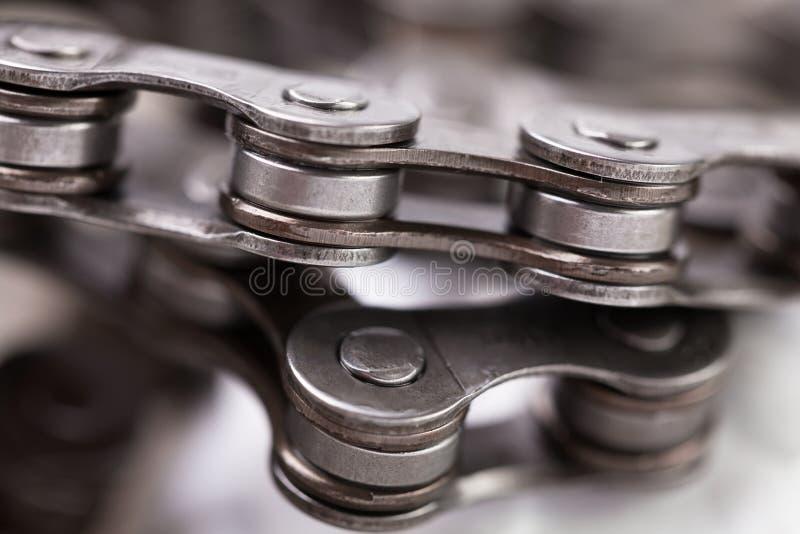 Cadena de la bici fotos de archivo