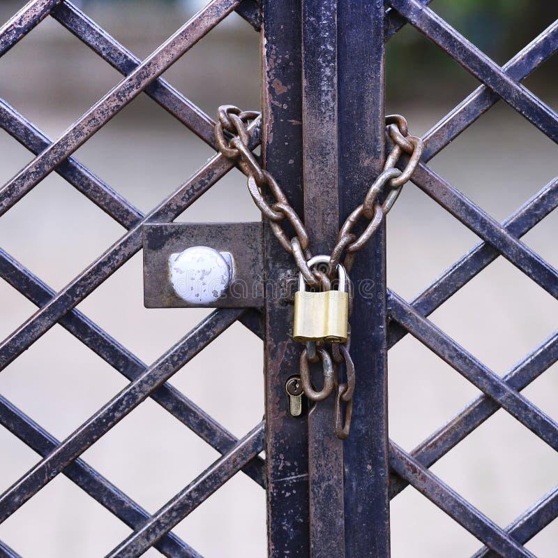 Cadenas et réseaux photos libres de droits