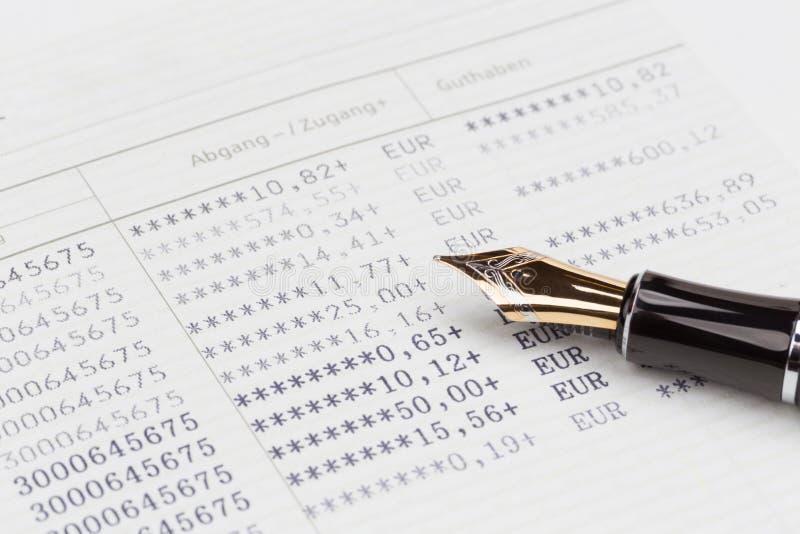 Caderneta bancária do banco de economia imagem de stock royalty free