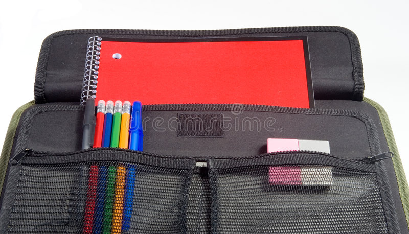 Caderno da escola fotos de stock