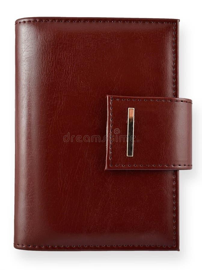 Download Caderno de couro de Brown imagem de stock. Imagem de pagar - 29833111