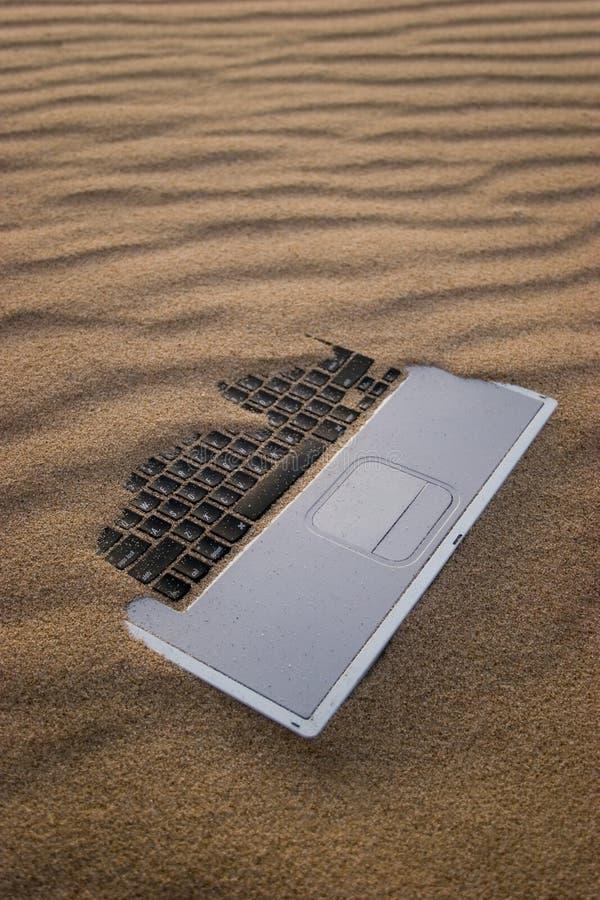 Caderno de Sandy imagens de stock royalty free