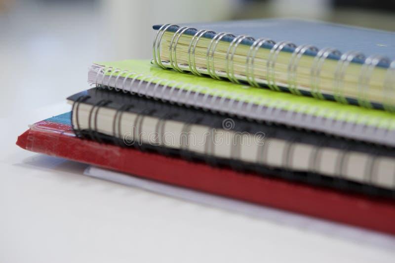 Caderno e nota da contabilidade imagens de stock royalty free