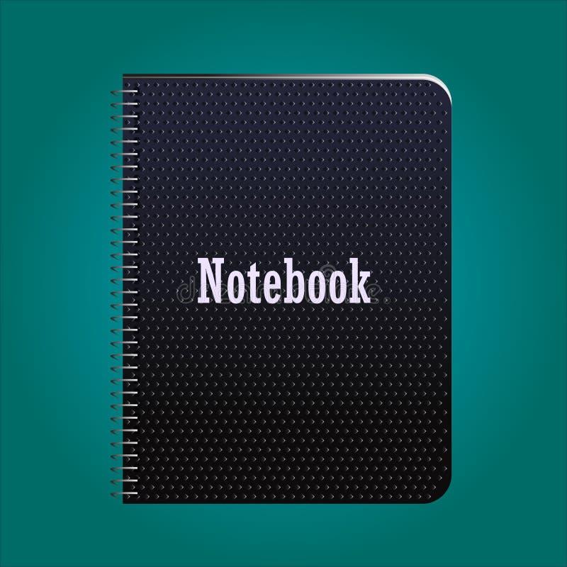 Caderno em anéis imagem de stock