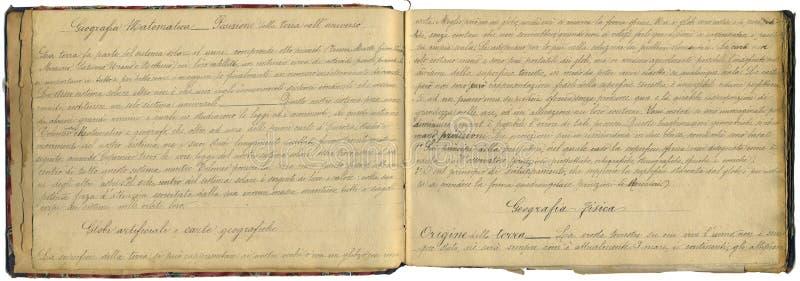 Caderno original do vintage