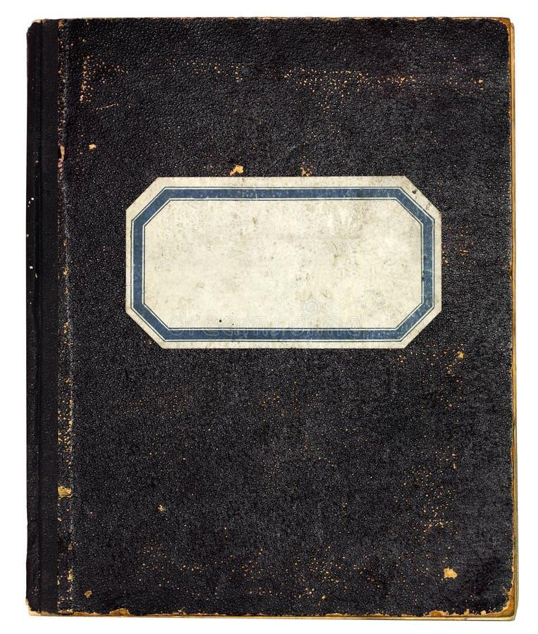 Caderno velho foto de stock royalty free