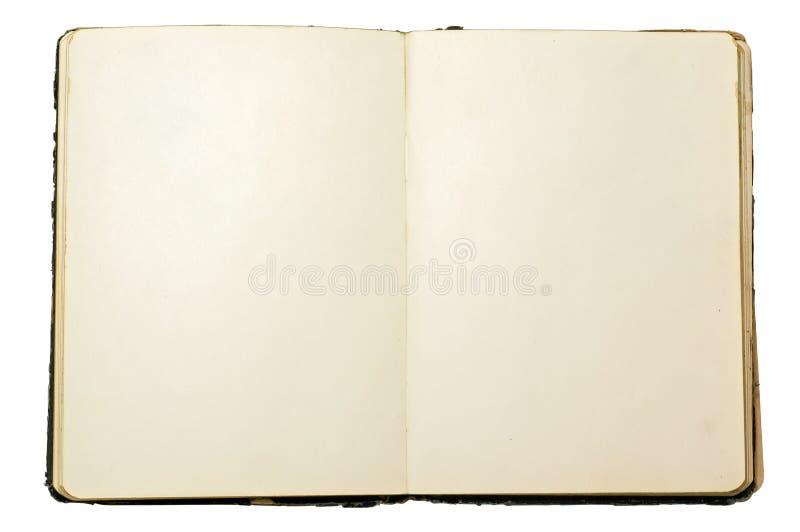 Caderno velho imagem de stock royalty free