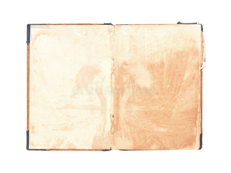 Caderno velho foto de stock