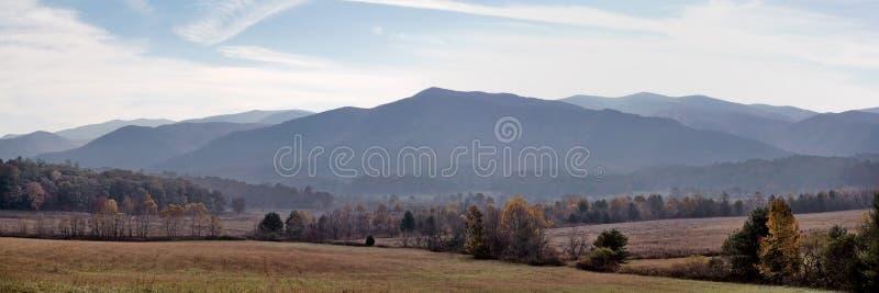 Cades zatoczki krajobraz panoramiczny zdjęcia stock