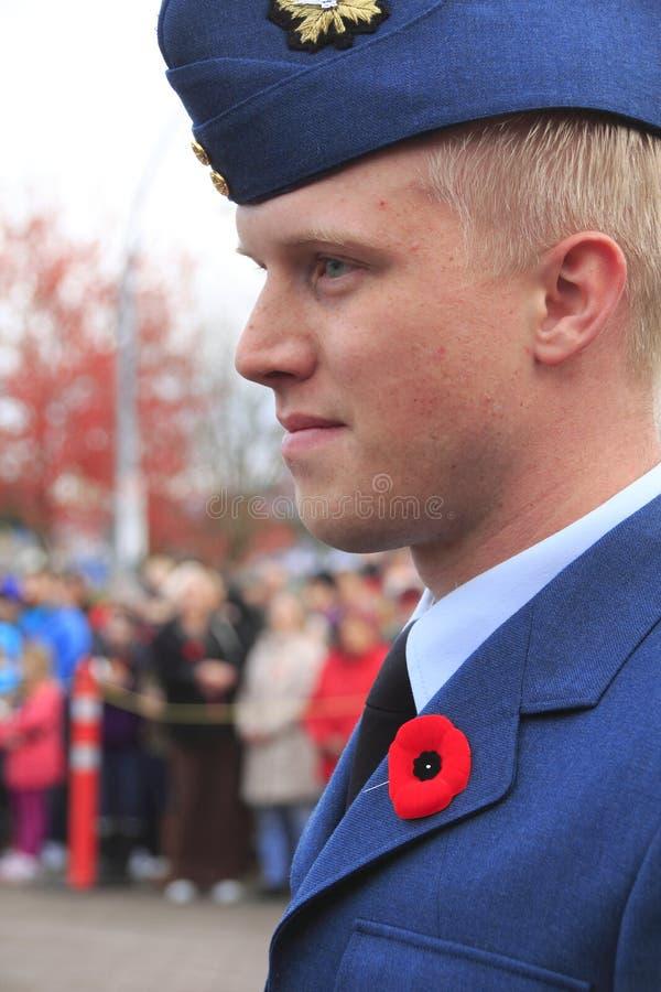 Cadet canadien images stock